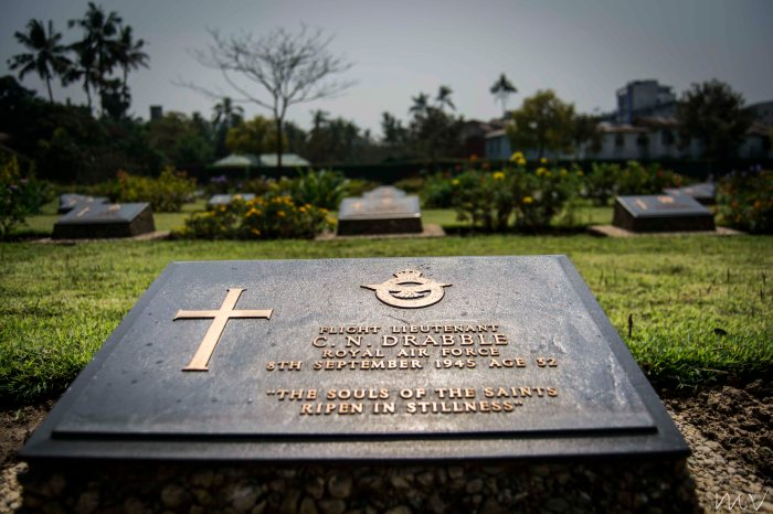 Ragoon War Cemetery, Yangon, Myanmar, Photo by Maro Verli