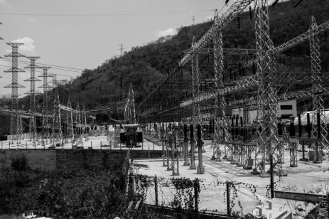 The hydroelectric power plant at Lawpita Falls outside of Loikaw, Photo by Maro Verli